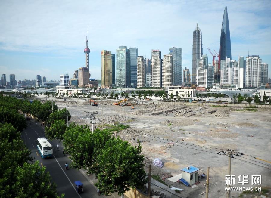 """上海外滩""""双子塔""""高度不变"""