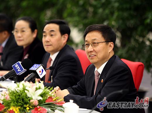 韩正:上海要建设成为全国的人才高地