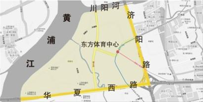 上海浦东 三维地图