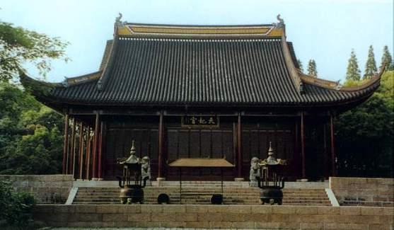 脱颖而出的松江方塔园天妃宫