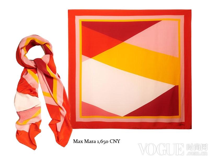 红色和黄色都是极具中国年特色的喜庆色彩,而运用大色块的几何拼接