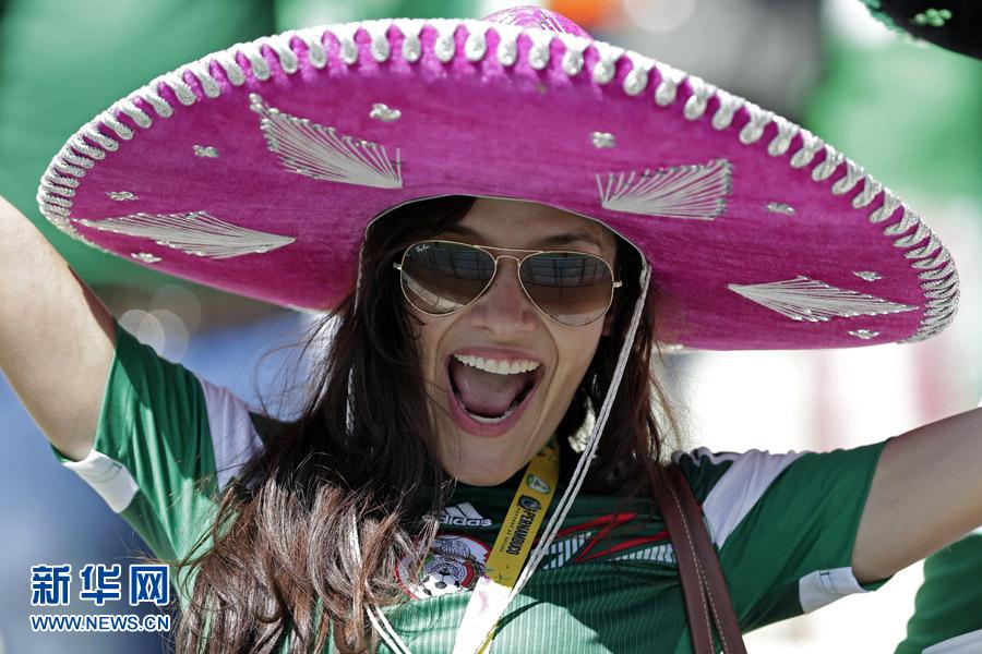 巴西世界杯美女球迷大比拼