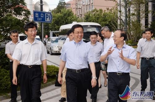 韩正调研上海市环境监测中心 强调环境改善重要性
