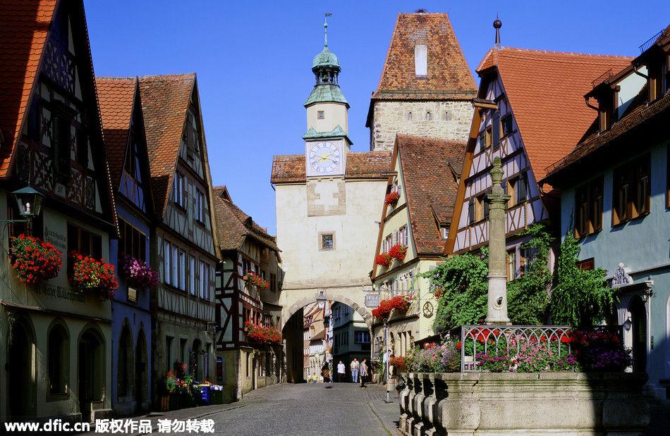德国中世纪小镇罗腾堡-说走就走的旅行 文艺女青年梦想地大推荐