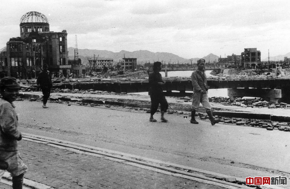 广岛原子弹爆炸70周年今昔对比 新华网上海频