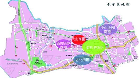 上海商圈地图.