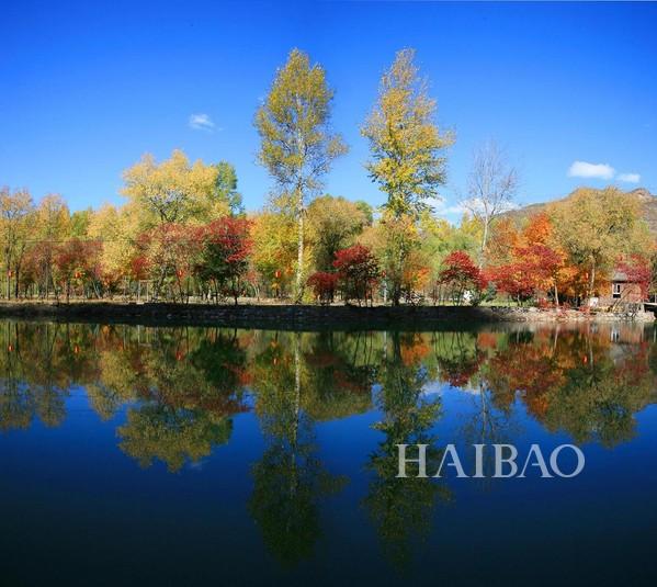 百里山水画廊    一,百里山水画廊   北京延庆百里山水画廊位于