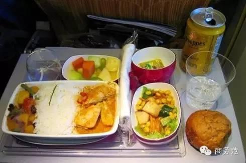 27家航空公司头等舱,经济舱飞机餐大pk