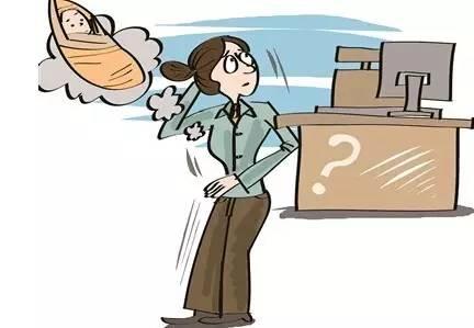 气质职场女性卡通
