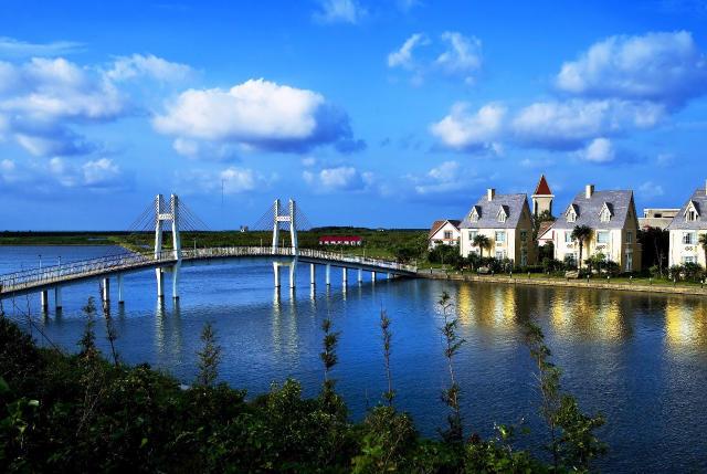 崇明县横沙岛