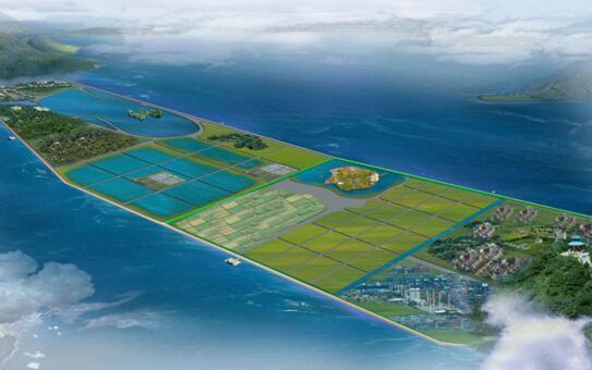 上海今年将在金山区启动围海造陆工程,在龙泉港以西的304公顷范围内,未来有望变身为生态型城市滨海城区。   围海造陆区域将打造滨海城区   上海市海洋局巡视员沈依云在接受东方网记者采访时表示,《金山新城区域建设用海规划》已获国家海洋局批复,在上海市金山区龙泉港以西,拟围圈成陆区域将有304公顷,合4500多亩,未来这里将成为集生态观光、休闲度假、商务会展和户外运动为一体的滨海城区。从实施方面,大致分为围圈工程、规划功能内容、后续开发建设三步。   据报道,建国以来到2010年,上海通过填海造陆,大约