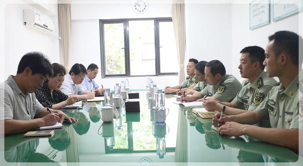 高菊兰巡视员赴武警上海市总队基层中队调研
