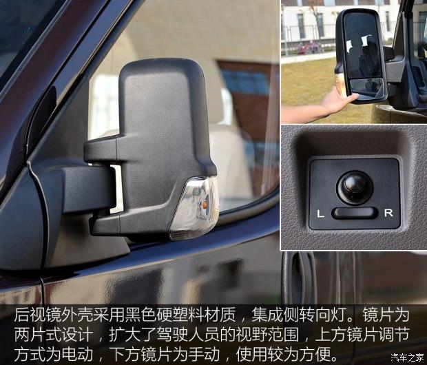 中央控制区为简单的收音机与空调控制面板