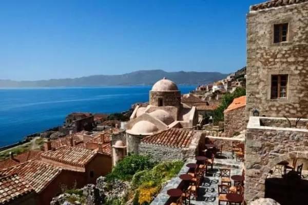 希腊海边田园别墅