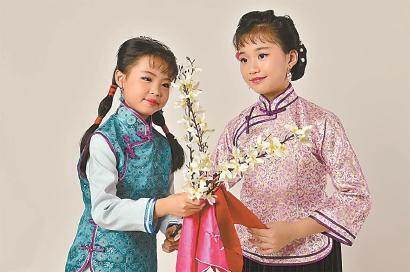 """沪剧经典《大雷雨》 10来岁孩子""""挑大梁"""""""