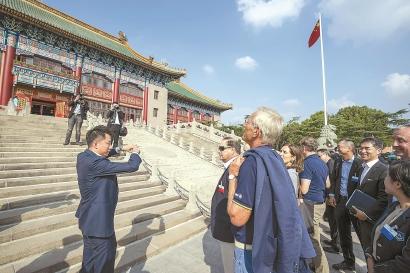 """武术乒乓中看见上海""""国际范"""""""