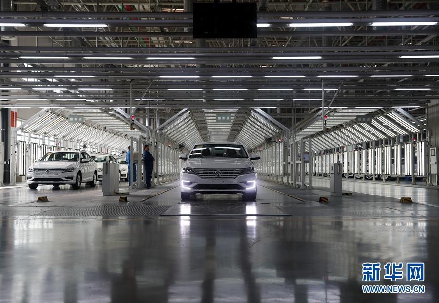 探访上汽大众新能源汽车生产线