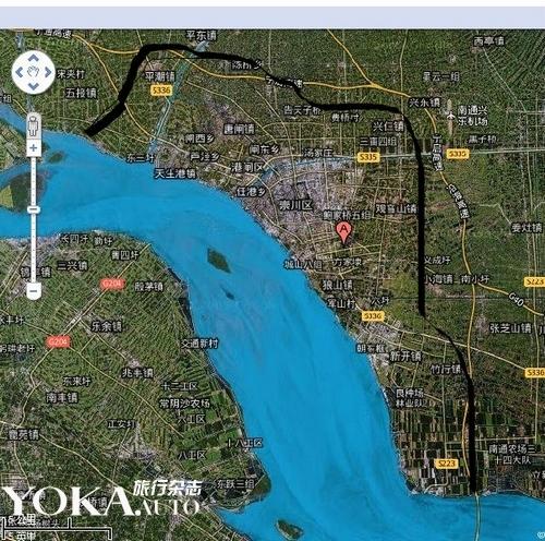 狼山风景区路线地图