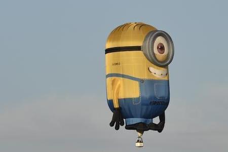 气球上画表情可爱萌