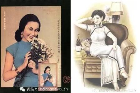 上海女人穿旗袍 摇曳生姿柔中傲骨