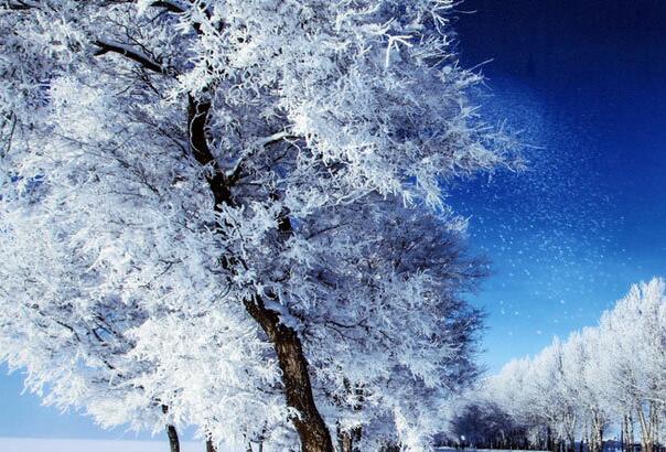 新疆哈密东天山 壮美雪景震撼人心