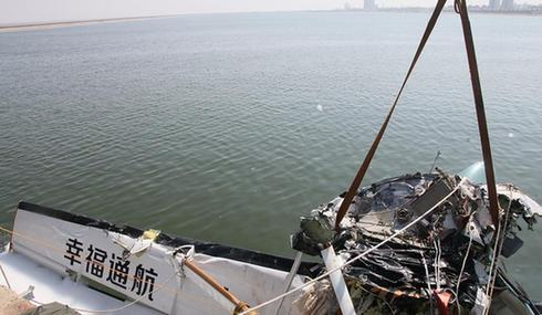 上海金山一小型飞机发生事故