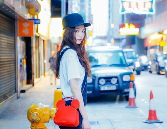 唐嫣街拍图片