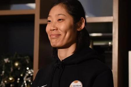 朱婷獲得年度最佳女運動員獎