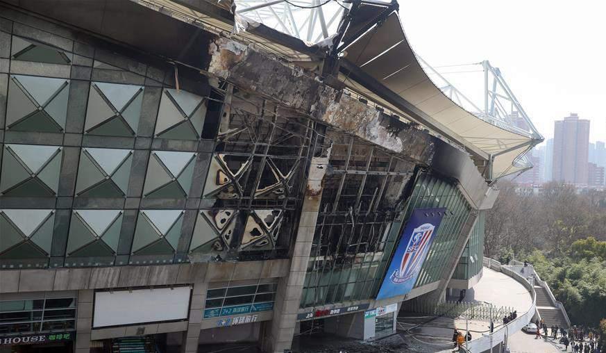 虹口體育場火災不排除導致申花比賽換場或延期