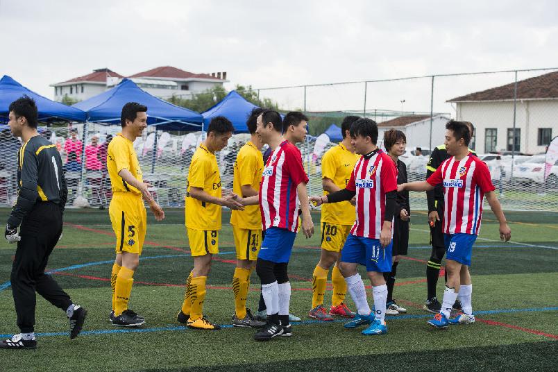 農發行上海分行參加上海金融係統足球邀請賽