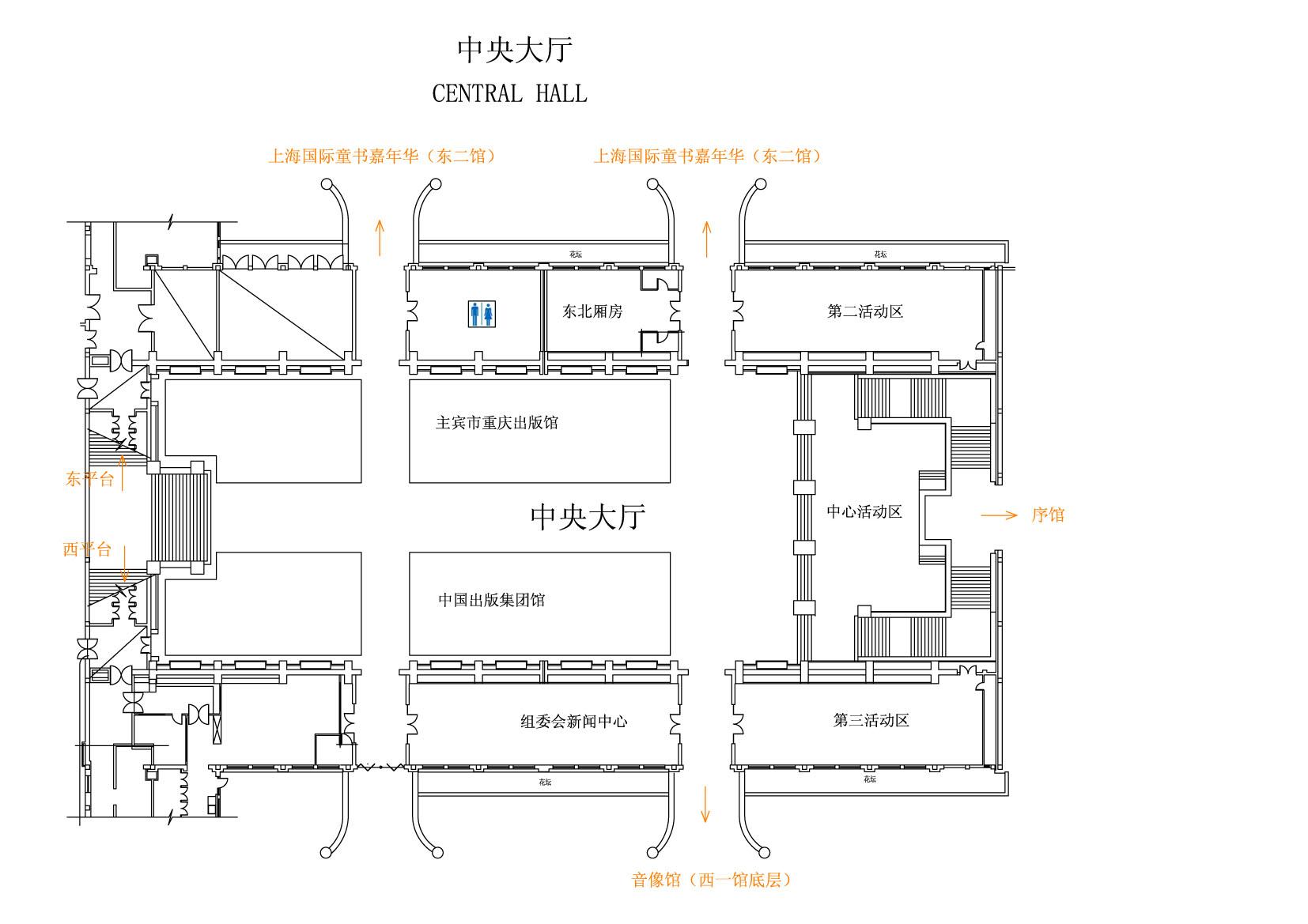 小型公司平面图; 展馆交通平面图; 展览馆平面图图片展示